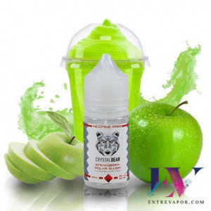 Crystal Bear Black Apple Polar Slush 25ML (BOOSTER) en nuestra tienda de vapeo