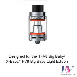 SMOK Bulb Pyrex Glass Tube 1 for TFV8 Big Baby/X-Baby 7ml en nuestra tienda de vapeo