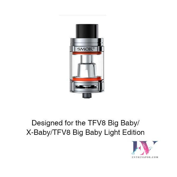 Compra el accessorio de vapeo SMOK Bulb Pyrex Glass Tube 1 for TFV8 Big Baby/X-Baby 7ml en nuestra tienda de cigarrillos
