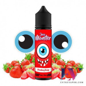 Juice Monster Strawberry Savage 50ml (Shortfill) en nuestra tienda de vapeo