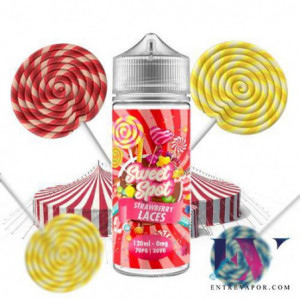 Sweet Spot Strawberry Laces 100ml (Shortfill) en nuestra tienda de vapeo