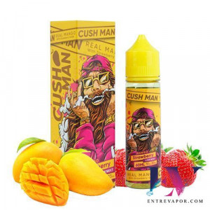 Nasty Juice Cush Man Mango Strawberry 50ml (Shortfill) en nuestra tienda de vapeo