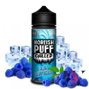 Moreish Puff Chilled Blue Raspberry 100ml (Shortfill) en nuestra tienda de vapeo