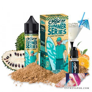 Ossem Juice - Summer Series - Hawaii Soursop Orange 50ml + Cooling Booster 5ml (Shortfill) en nuestra tienda de vapeo