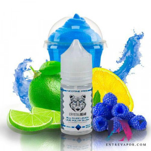 Crystal Bear Blue Razz Lemon Lime Polar Slush 25ML (BOOSTER) en nuestra tienda de vapeo