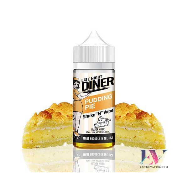 Late Night Diner Pudding Pie 50ml